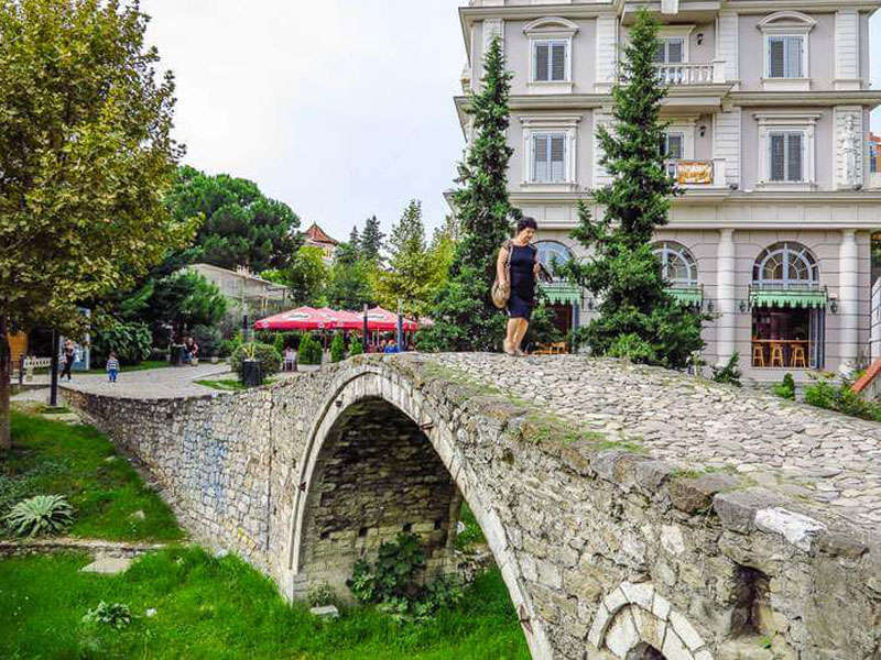 Tanners Bridge in Tirana