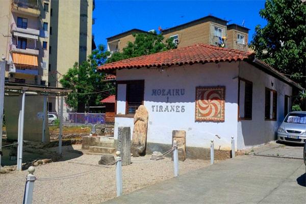 Mozaiku i Tiranes Shqiperi