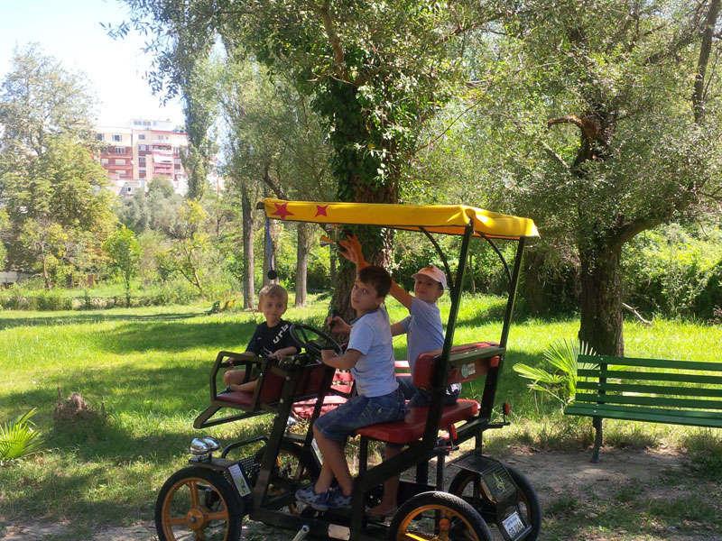 Tirana Zoo, Tirana Zoo Park