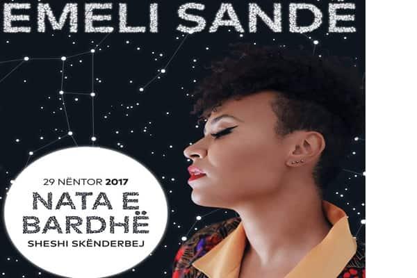 Emeli Sande comes in Tirana