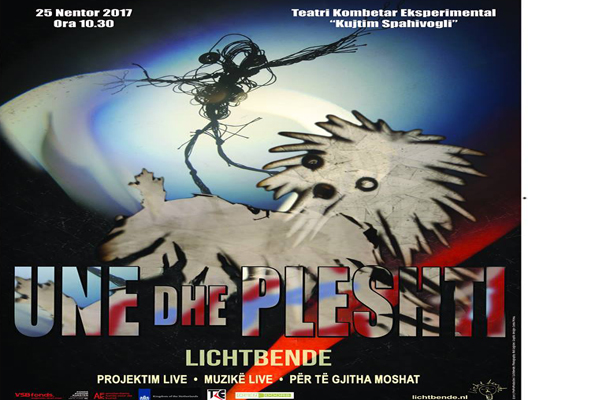 Theater show for kids in Tirana
