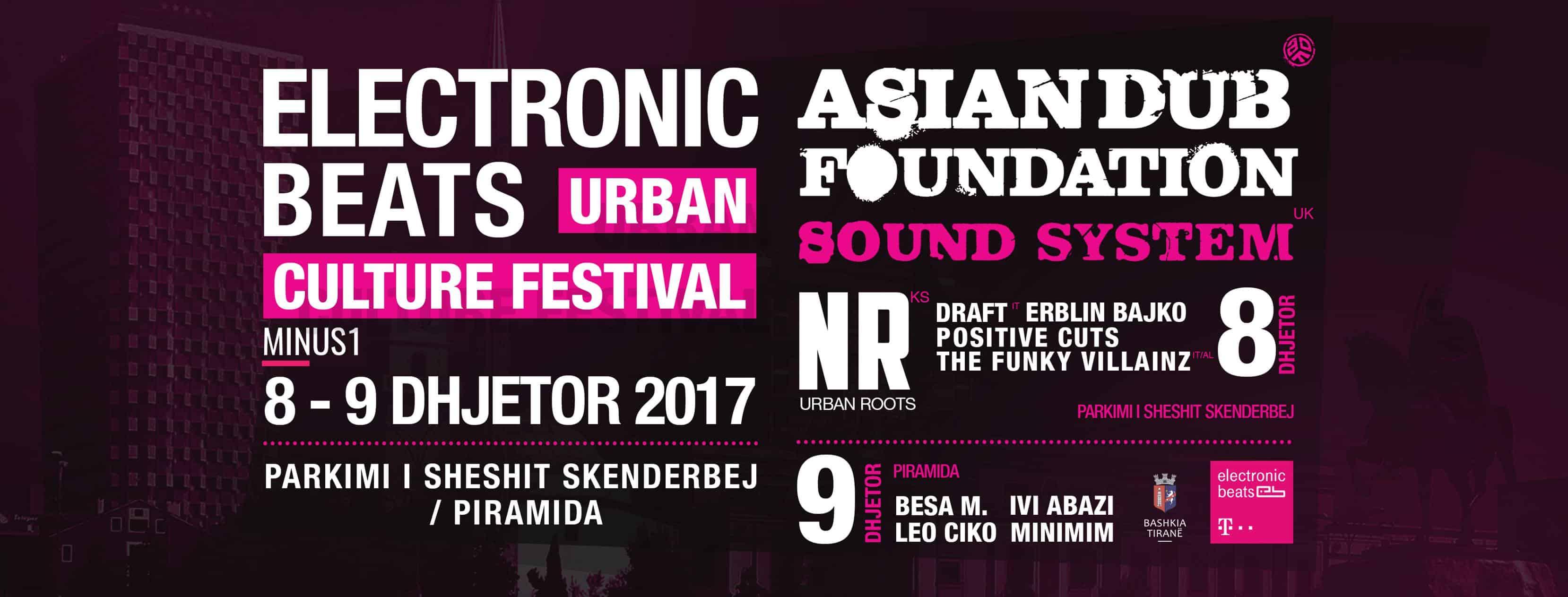 Urban festival in Tirana