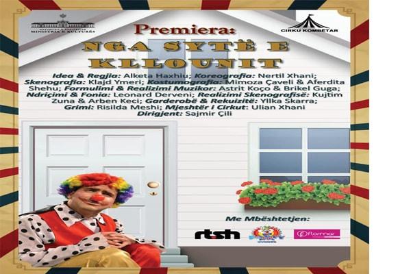 'Nga sytë e Kllounit' shfaqje cirku, Shfaqje Cirku ne Tirane, Evente ne Tirane, Aktivitete ne Tirane, Vizito Tiranen