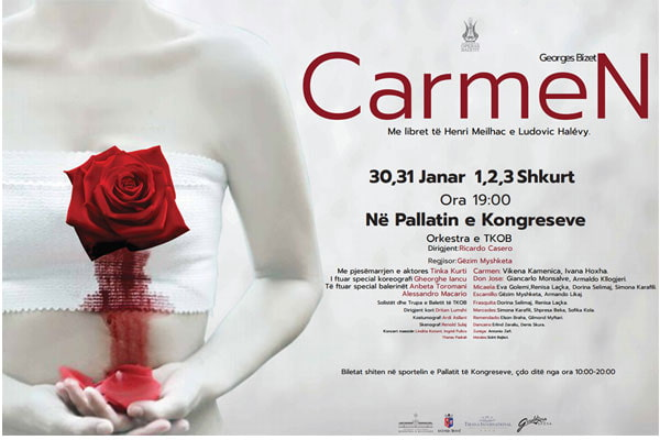 opera Carmen in Tirana