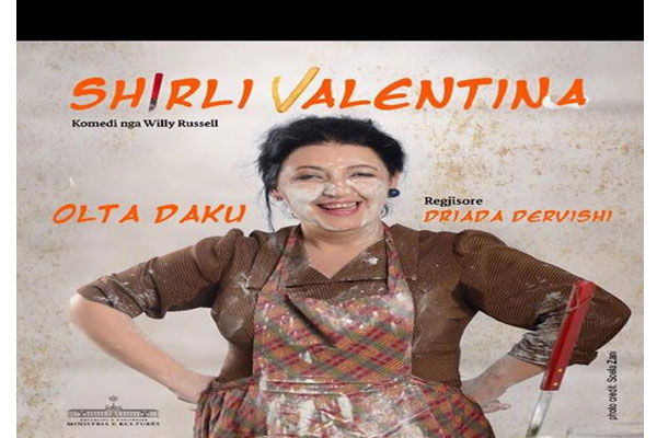 Shirli Valentine Tirana theater