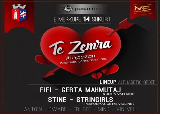 Valentine day in Tirana, events on valentine day in Tirana, events in Tirana, activities in Tirana, visit Tirana