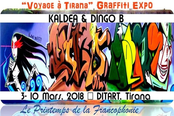 Graffiti Expo/ Kaldea & Dingo B  Ditart