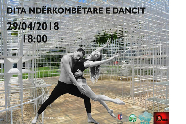 International Dance Day at Reja, Tirana, dance events in Tirana, activities in Tirana, open air events in Tirana Albania, events in April in Tirana