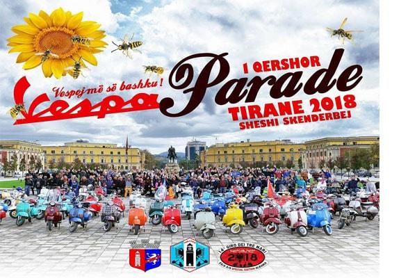 Vespa Parade Tirana 2018