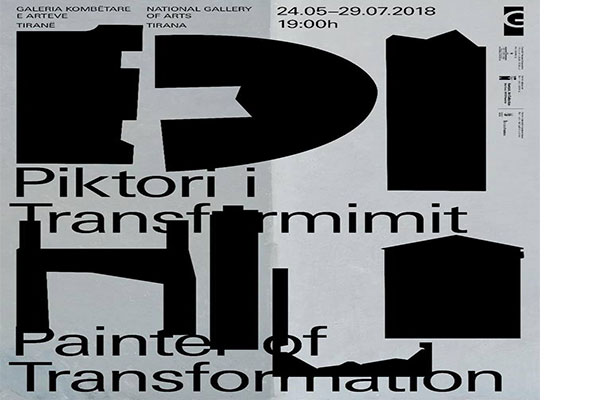 'Edi Hila-Painter of Transformation' exhibition at Gallery of Arts, exhibitions in Tirana, events in Tirana, Tirana events, Visit Tirana, events in May Tirana