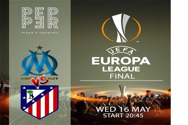 UEFA League Final  Pepper Pizza Tirana