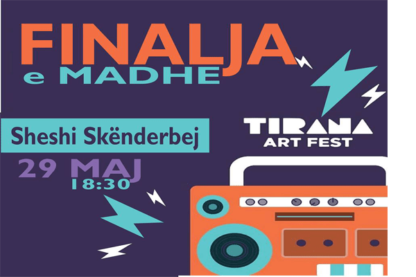 The Final of Tirana Art Fest