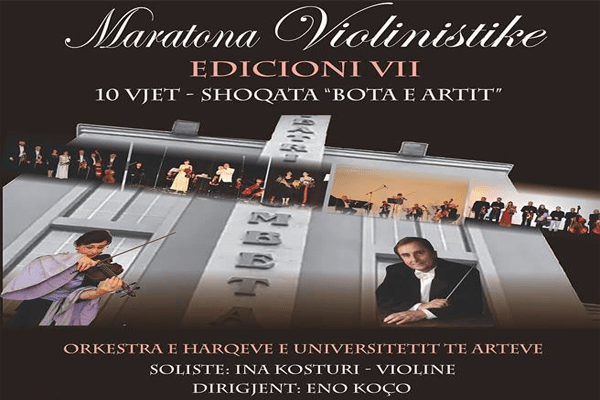 Tirane Violin Marathon Tirane