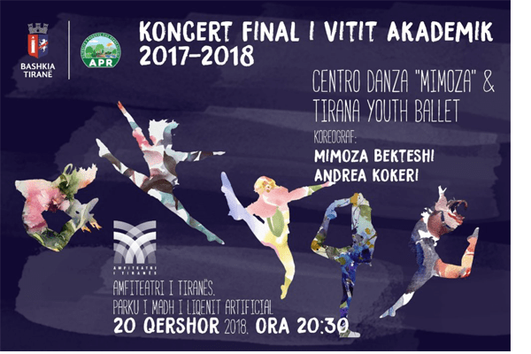 Festive Concert at Amphitheater of Tirana