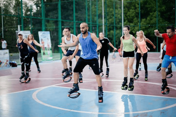 Kangoo in Park of Tirana