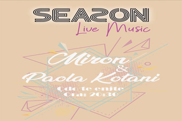 live music in tirana, live music at season restaurant, events in tirana