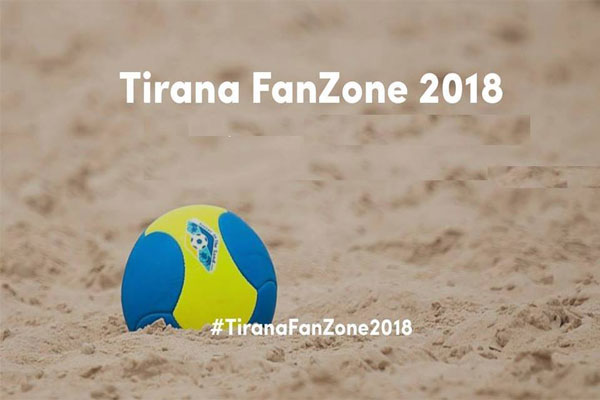 beach volley in tirana, event in tirana, beach volley tirana fanzone 2018