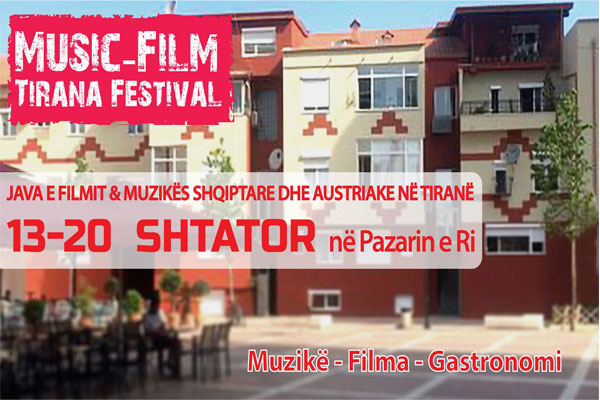 events in tirana, festival in tirana, music-film festival in tirana