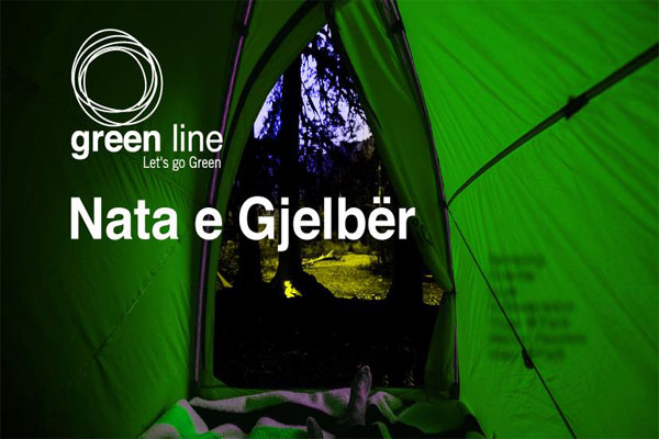 green night at park, events in tirana, camping in tirana