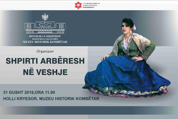 Exhibition of the Abëreshë traditional costumes