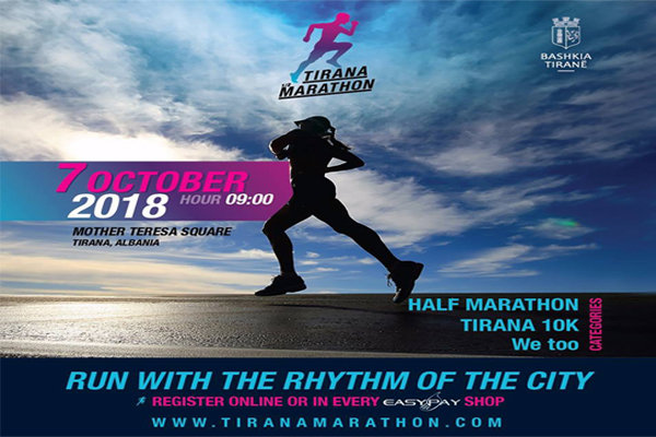 Maratona e Tiranes 2018, evente ne Tirane, aktivitete ne Tirane