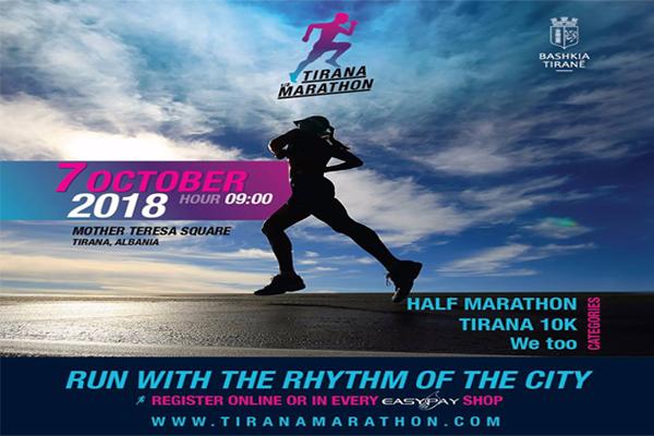 Tirana Marathon 2018, events in Tirana, Visit Tirana