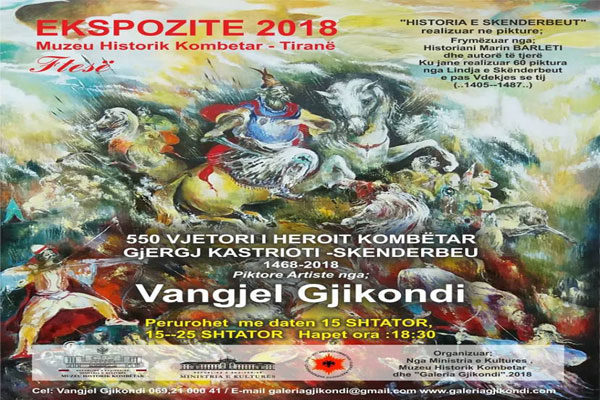 events in tirana, exhibition in tirana, museum in tirana