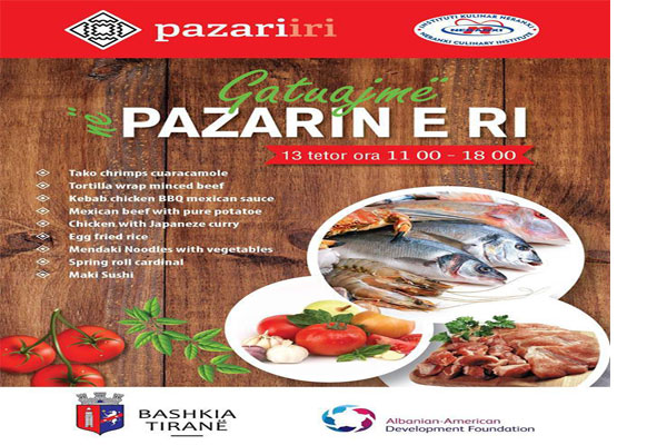 Food Fair at New Bazaar Tirana, events in Tirana, activities in Tirana