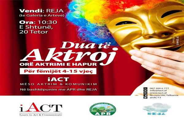 'I want to act'! Open Acting Hour in Tirana, events in Tirana