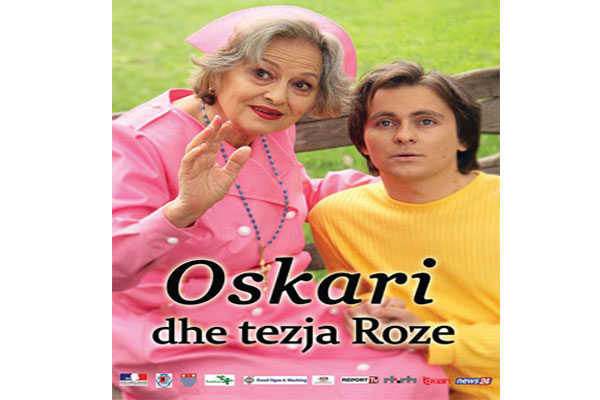 Oscar and aunt Roze theater show in tirana, theater show in tirana, events in tirana, theatre in tirana