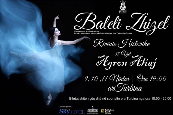 opera and ballet in tirana, events in tirana, ballet in tirana