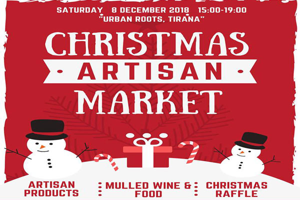 christmas artisans in tirana, trade fair in tirana, events in tirana