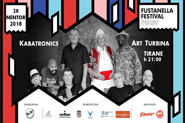 the kabatronic at art turbina concert in tirana, fustanella festival in tirana, events in tirana, concerts in tirana