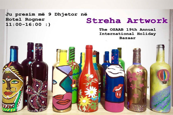 streha art work in tirana, events in tirana