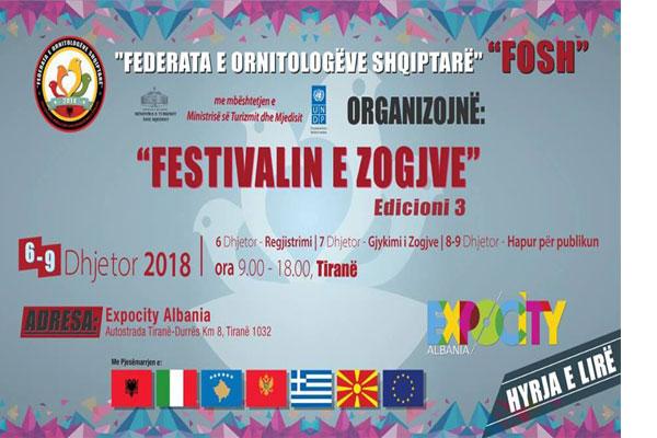 Festivali i Zogjve ne Tirane Shqiperi