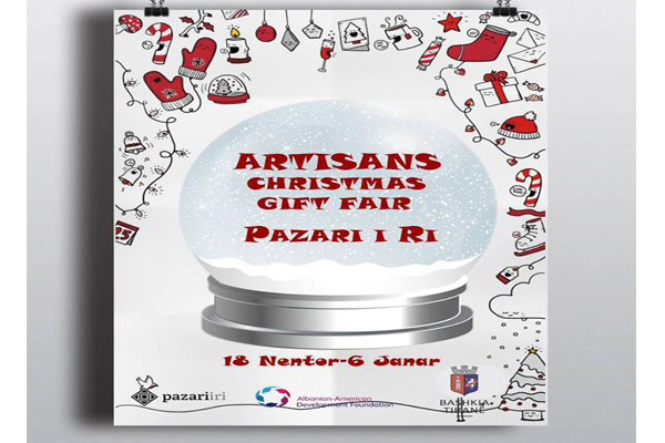 Artisans gift Fair at New Bazaar in Tirana
