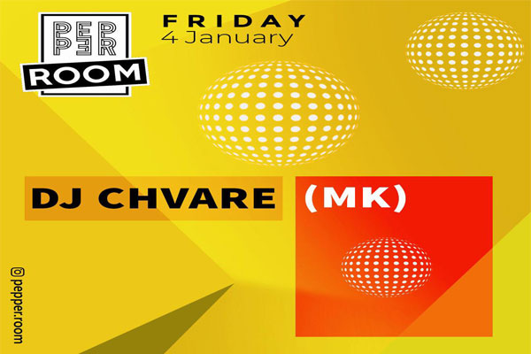 Music by DJ Chvare at Pepper Room