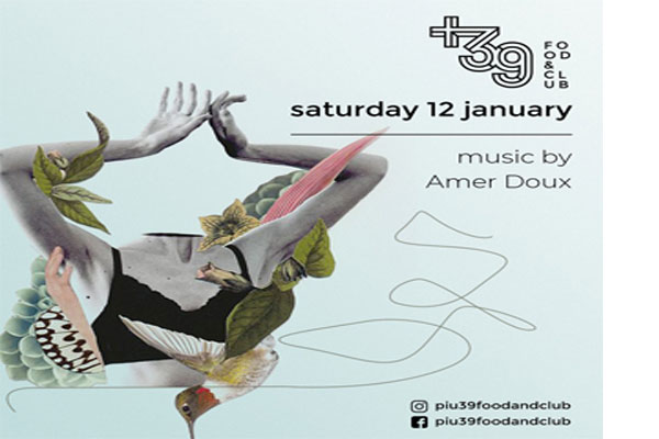 Music by Amour Doux at Più 39 Food & Club