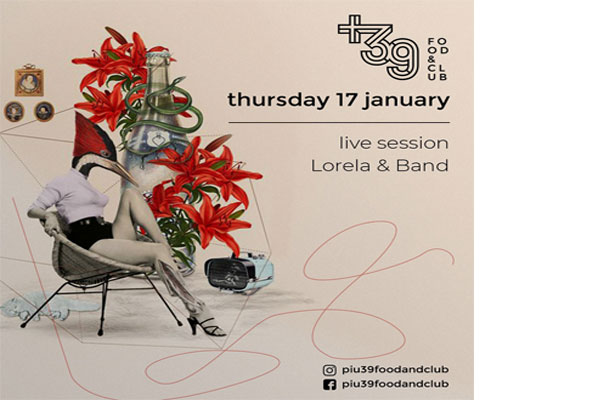 Live session with Lorela and Band at Più39Food&Club Tirana