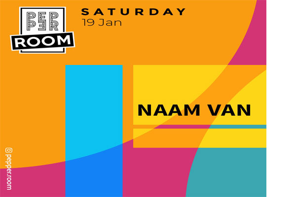 Naam Van at Pepper Room, events in Tirana, night bars in Tirana