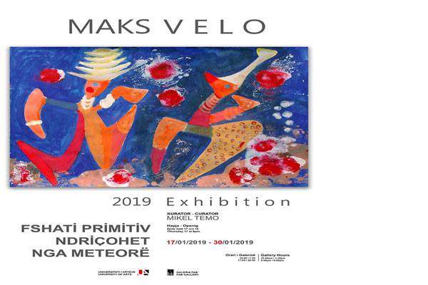 Maks Velo exhibition in Tirana