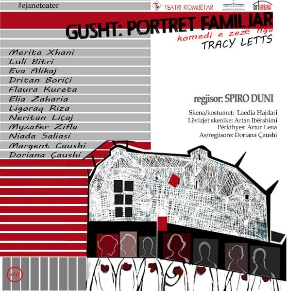 Teatri Kombetar shfaqje ne Tirane Shqiperi