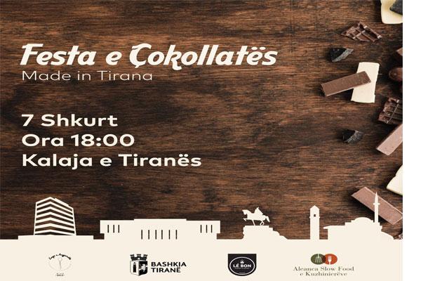 Festa e Çokollatës ne Tirane