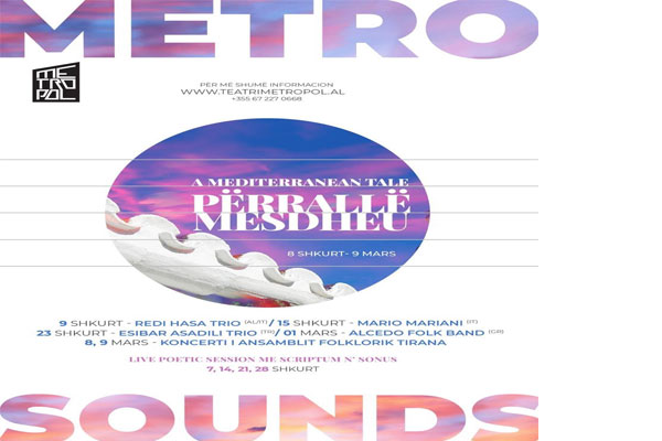 MetroSounds Festival in Tirana Albania
