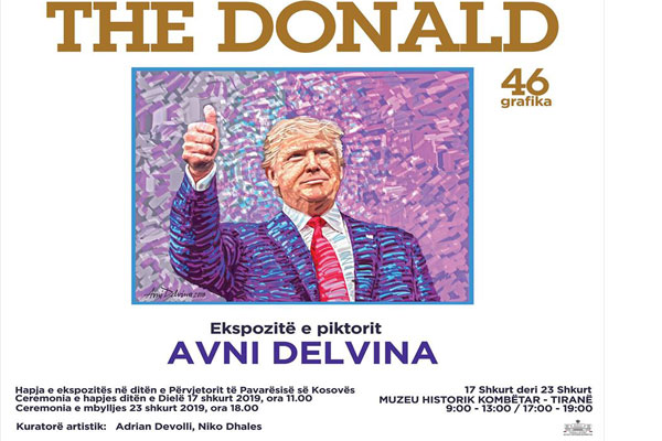 The Donald- ekspozitë nga Avni Delvina