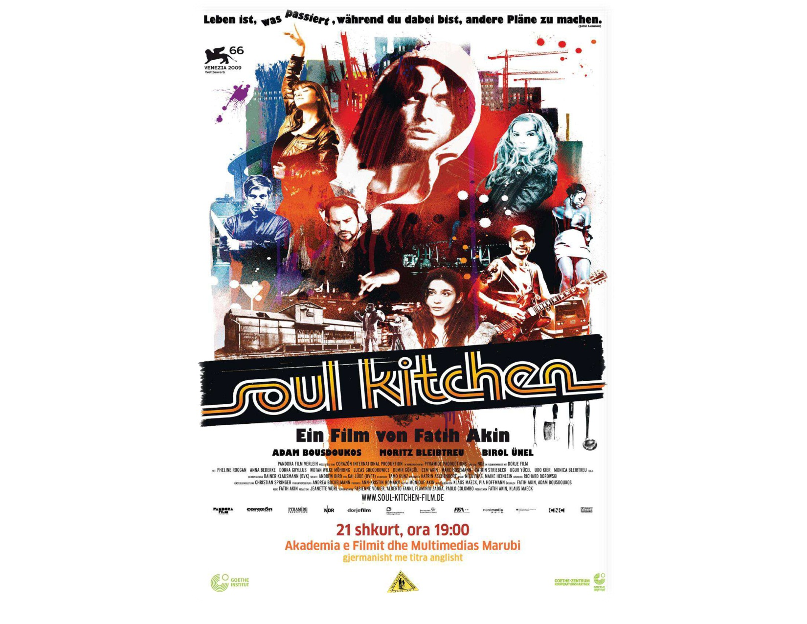 Soul kitchen (Movie) organizuar nga Goethe-Zentrum