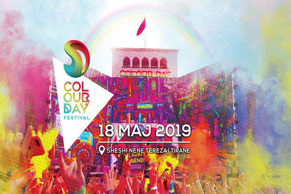 Color Day Festival Albania 2019, events in Tirana, Tirana events, Activities in Tirana Albania, concerts in Tirana
