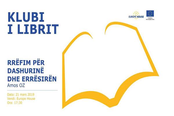 Klubi i Librit në Europe House në Tiranë, evente ne Tirane