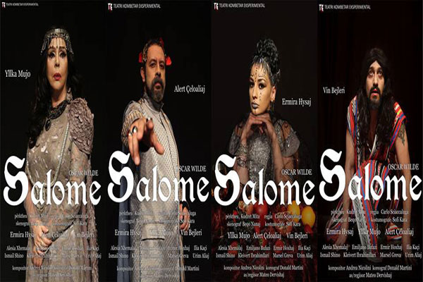 Salome Theater show in Tirana Albania