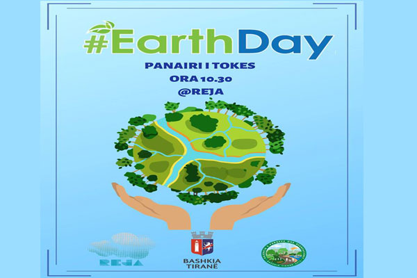 Earth Day activities in Tirana Albania